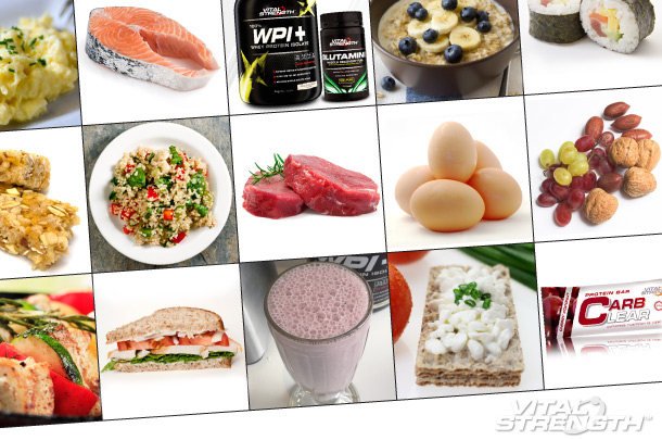 10 BEST MUSCLE MEALS: FOOD TO GET RIPPED & LEAN MUSCLE GROWTH