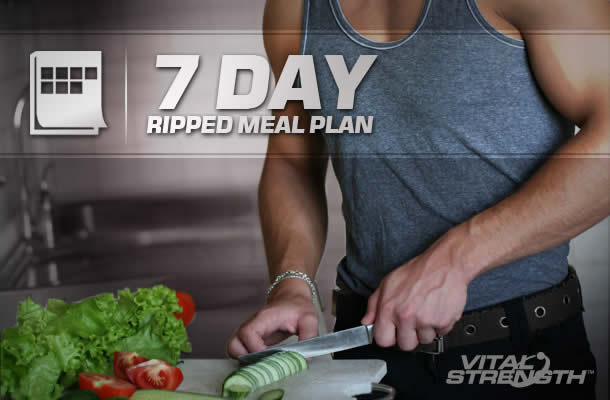 MUSCLE BUILDING DIET PLAN: BODYBUILDING DIET TO GET RIPPED