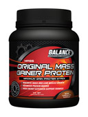 #6 Best Weight Gainer Protein Powder Supplements - Balance Original Mass Gainer