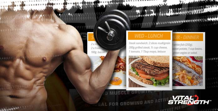 How to gain weight fast 5 day meal plan for skinny guys forumfinder Choice Image