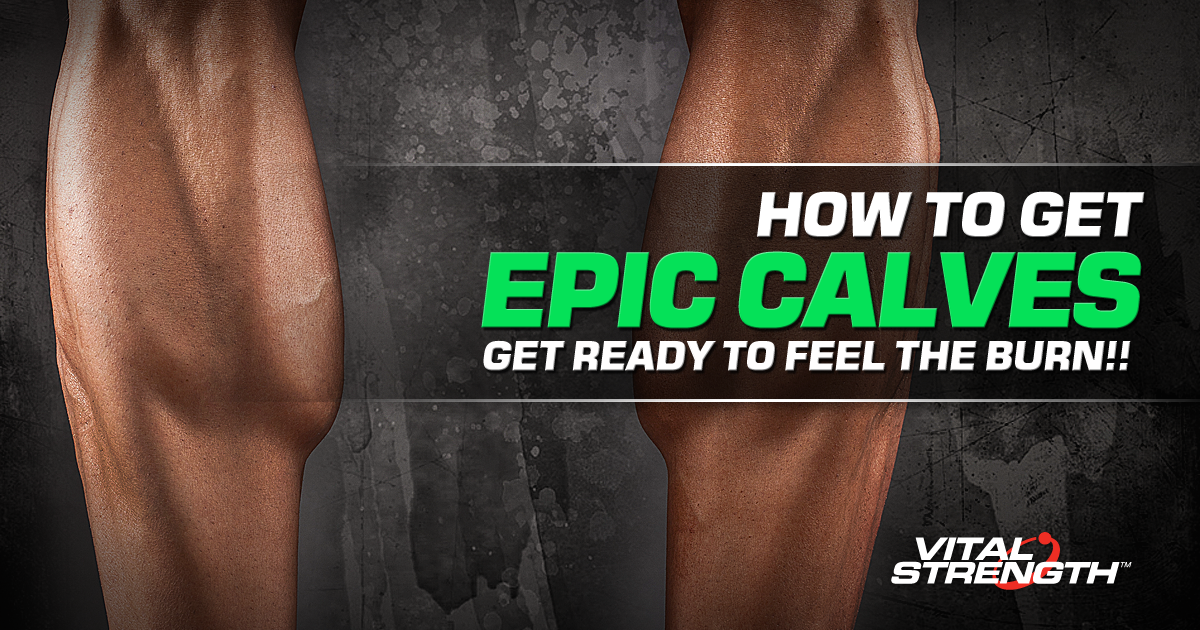 how to build calf muscle fast